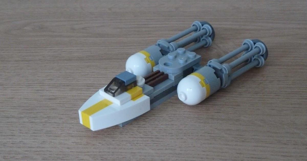 Totobricks Lego Star Wars Y Wing Instructions Magazine Gift