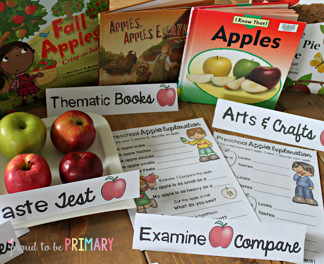 fall lesson plans - apples