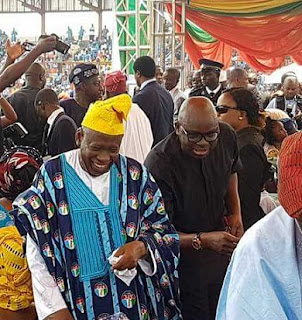 AYODELE FAYOSE AT AKEREDOLU'S SWEARING IN