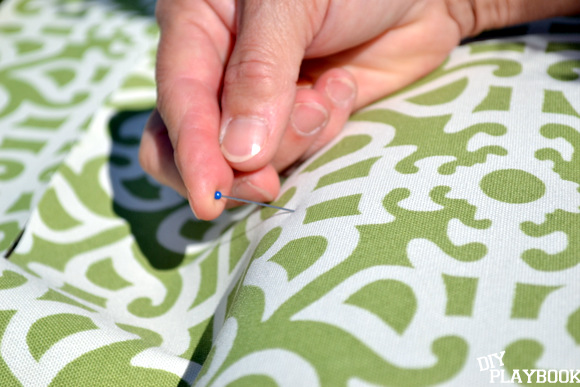 Pinning fabric