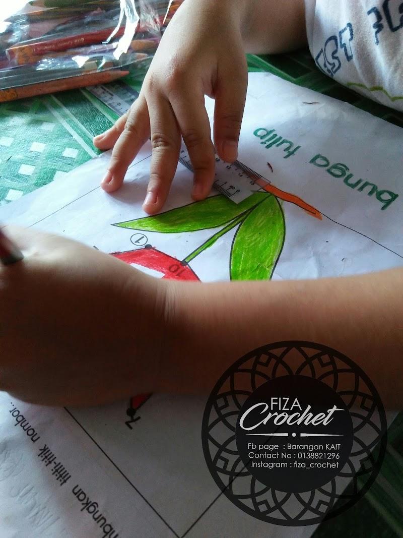 Menemani Anak menyiapkan kerja sekolah