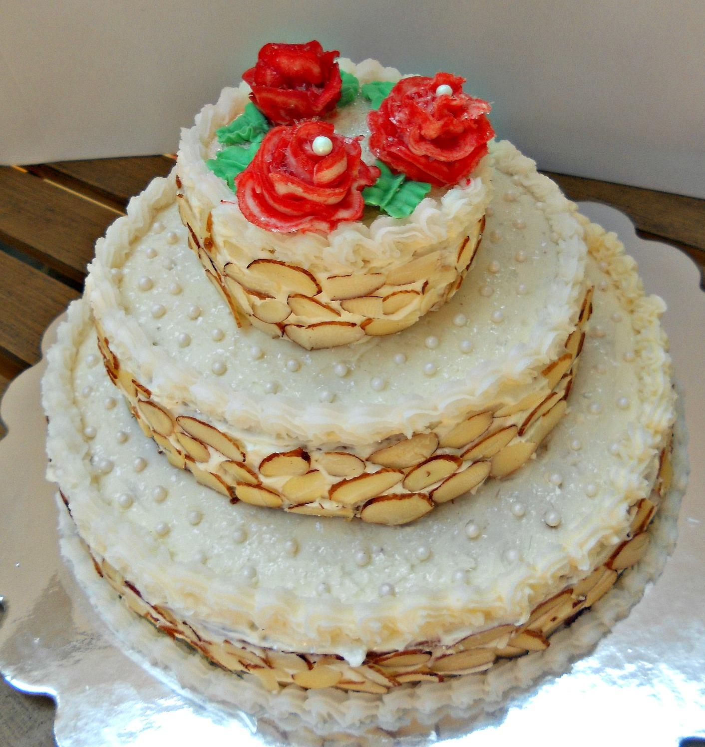 40th Wedding Anniversary Cake Topper From Staticweddingandcakescom
