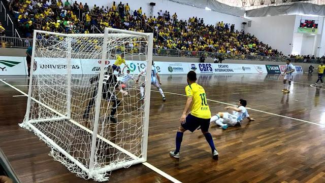 Brasil empata com a Argentina em Rondônia