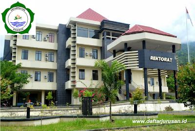 Daftar Fakultas dan Program Studi UNKHAIR Universitas Khairun Ternate