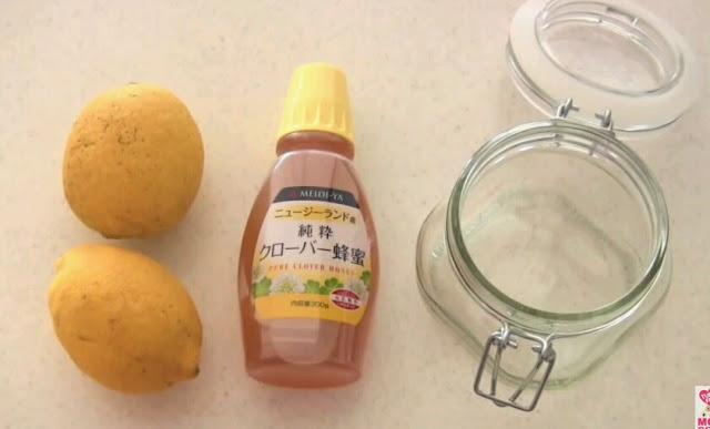 Kombinasi lemon dengan bahan lain