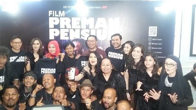 Tonton Gala Premiere Film Preman Pensiun, Ini Komentar Ridwan Kamil