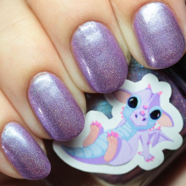 Grace-full Nail Polish Dragon Snuggles