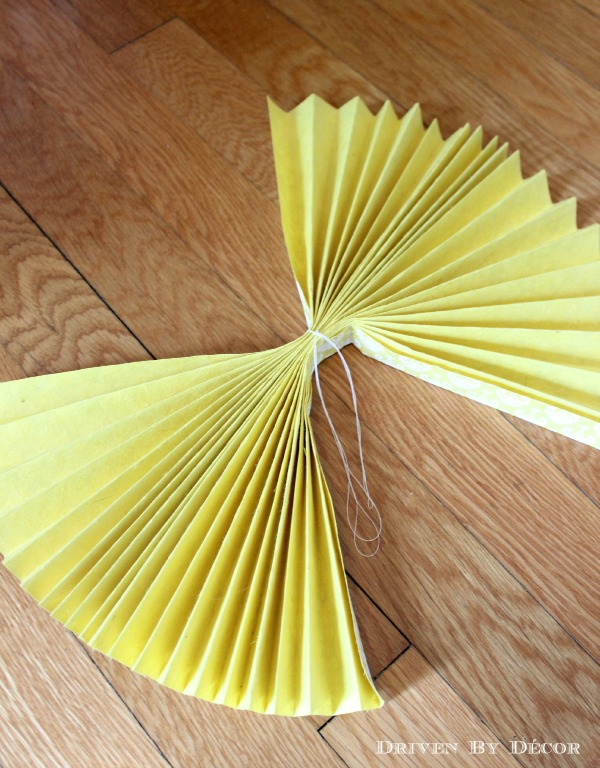 Diy tutorial how to make paper rosettes driven by decor mightylinksfo