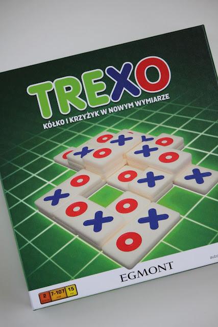 """Trexo - czyli nowa wersja """"kółko i krzyżyk"""""""