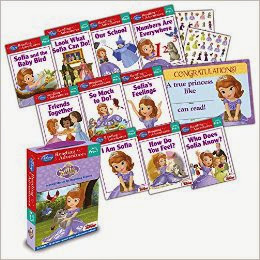 Reading Adventures Sofia the First Level Pre-1 Boxed Set