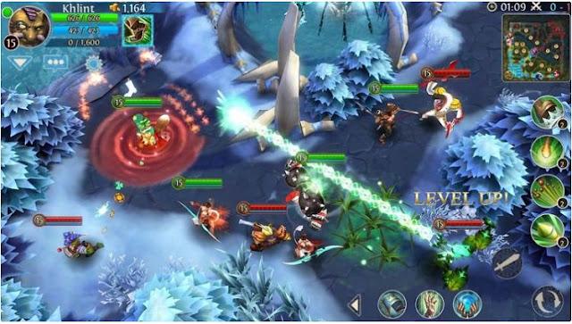 game yang satu ini sudah sangat populer di kalangan anak 5 Game Mirip Dota (MOBA) di Android, Terbaik!