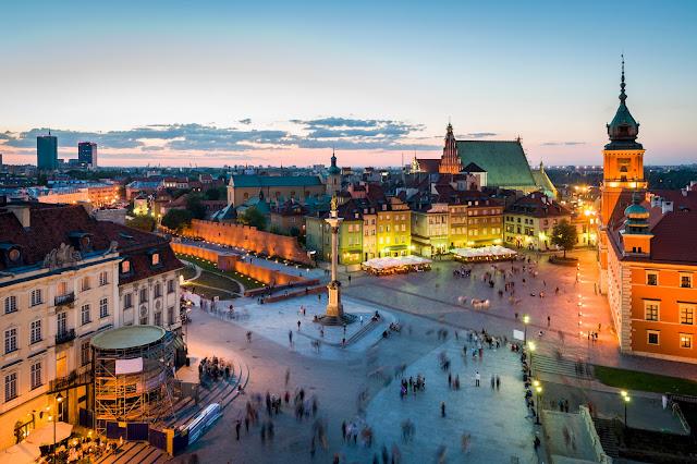 Warsaw Poland Tourist Places