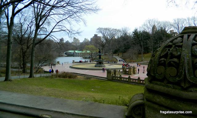 Bethesda Terrasse, Central Park, Nova York