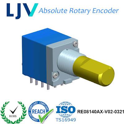 LJV Encoders, Potentiometers & Switch: Dongguan LJV RoHS