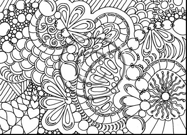 Fabulous Printable Adult Coloring Pages With Difficult Coloring Pages And Difficult  Coloring Pages Animals