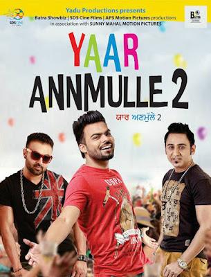 Yaar Annmulle 2 2017 Punjabi WEB-DL 480p 350Mb x264