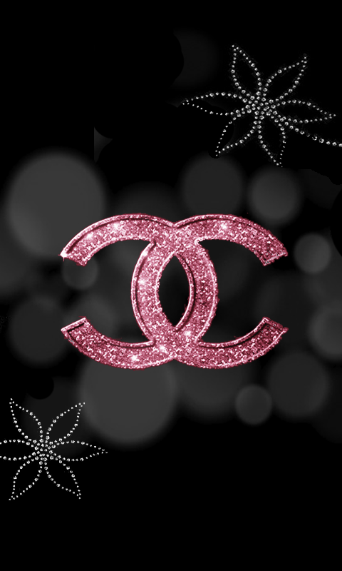 Chanel Wallpaper For Iphone 5 Love Pink Pink And Silver Hello Kitty Glitter Wallpapers 10