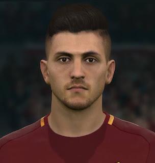 PES 2017 Faces Lorenzo Pellegrini by Sameh Momen