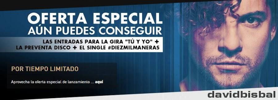 Single David Bisbal Diez Mil Maneras