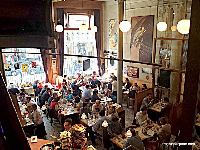 Restaurantes em Bruxelas: Brasserie Horta, no Centro Belga das Histórias em Quadrinhos