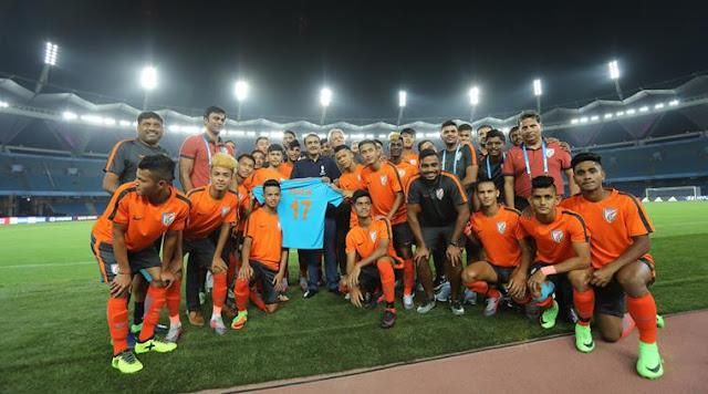 FIFA U-17 World Cup; Indian U-17 football Team