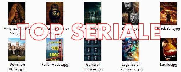 Seriale populare in 2016 - Top 25