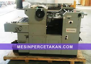 mesin percetakan nomorator xsheen 570
