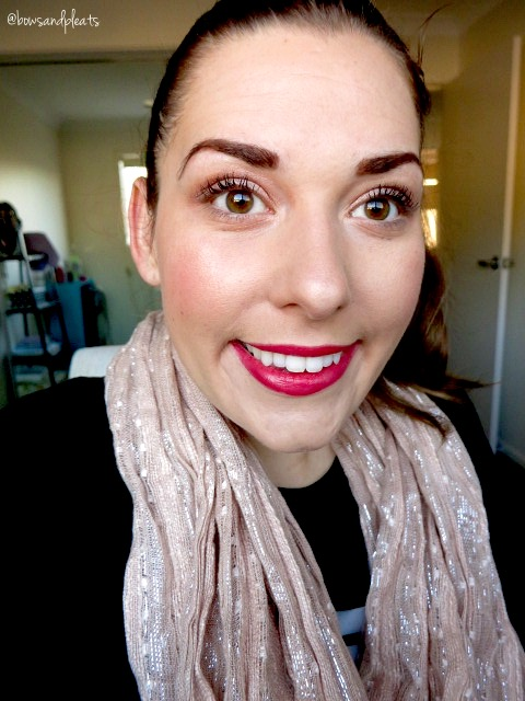 Antipodes April Sun in Cuba Lipstick and Mineral Foundation in Medium Beige