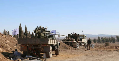 المفاوضات فى جنوب سوريا