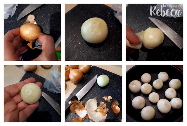 Receta de cebollitas glaseadas: preparación