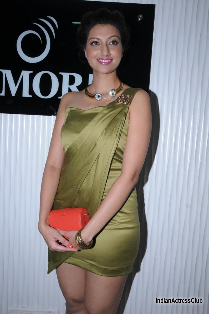 Spicy Stills Of Hamsa Nandini At Ken Hotels