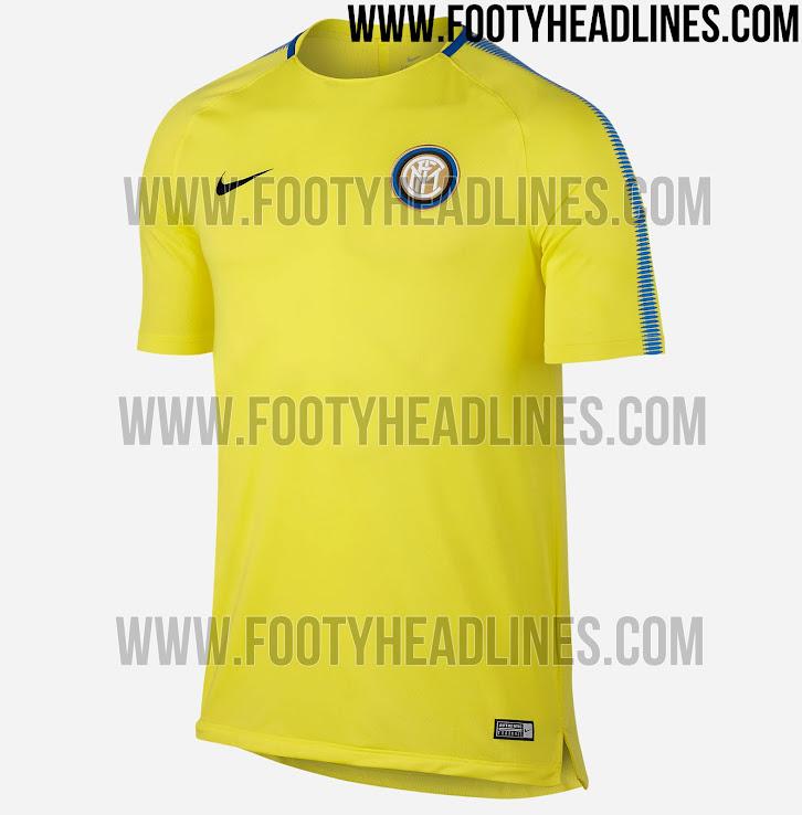 Nike Inter Milan 17-18 Training Jerseys Leaked - leaked soccer