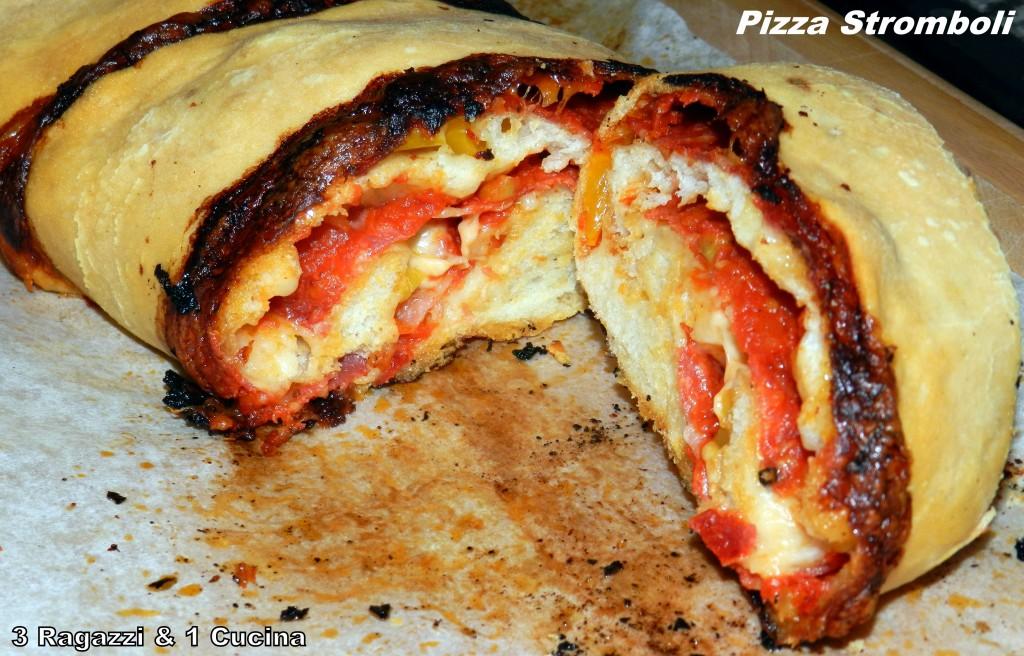 Fotografia della pizza Stromboli dal blog 3 Ragazzi & 1 Cucina