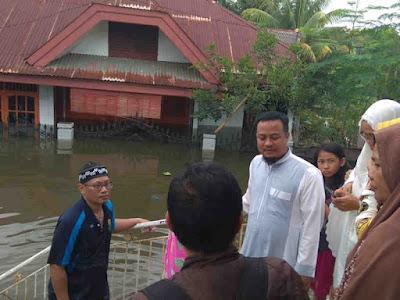 Tinjau Lokasi Terdampak Banjir, Andi Sudirman Datangi Warga Antang