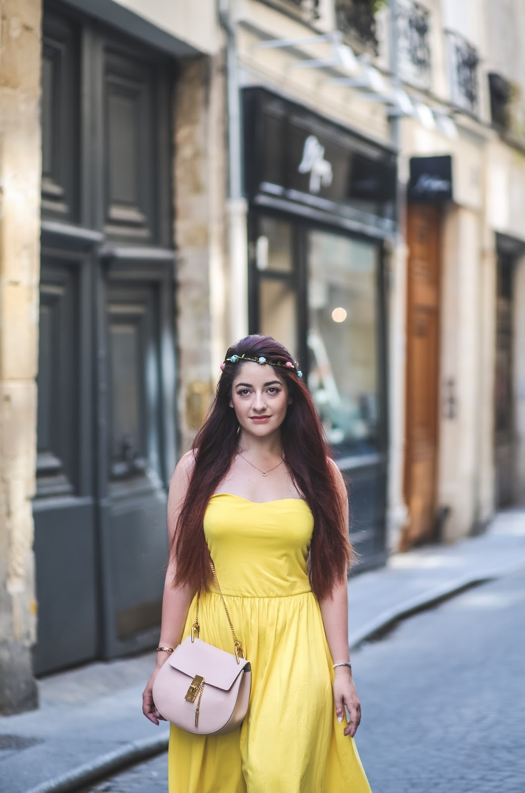 robe jaune poussin blog mode paris