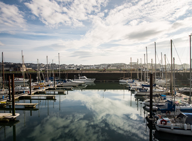 A photo of Maryport Marina in Cumbria