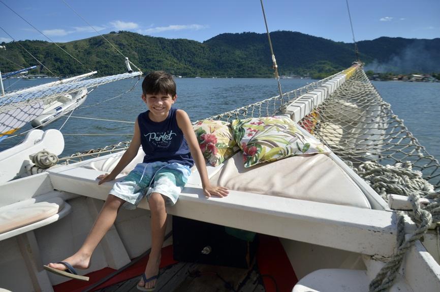 Barco em Paraty
