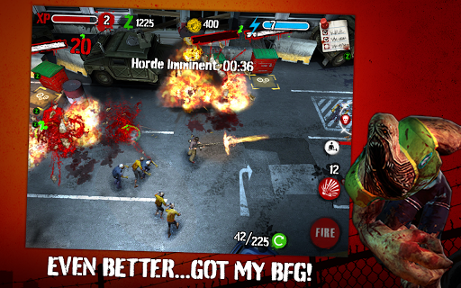 Zombie HQ APK + DATA Unlimited Coins
