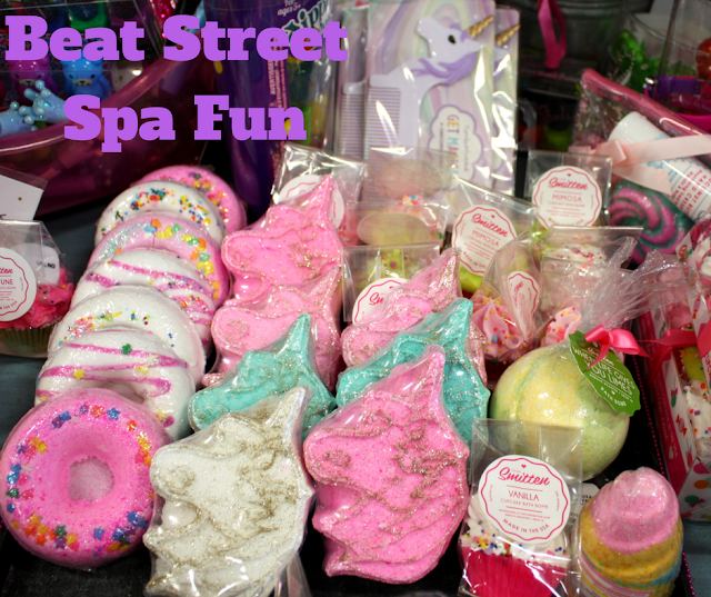 Spa items for girls at Beat Street in Arlington Heights