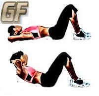 Fitness dan olah raga dirumah dengan crunch