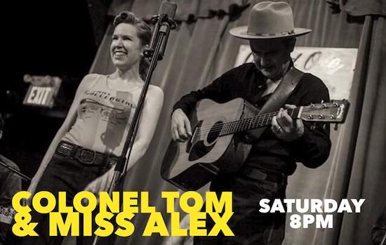 Colonel Tom Parker & Miss Alex live at home, May 30