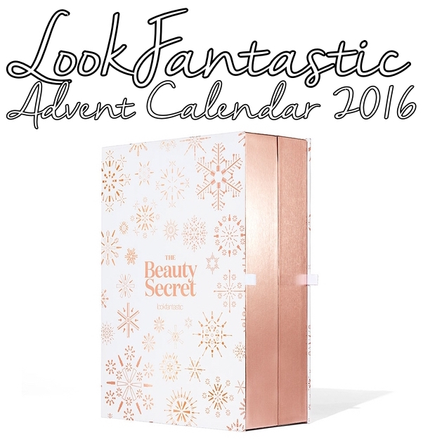 The LookFantastic Beauty Secret Advent Calendar for 2016 ships worldwide tracked free.