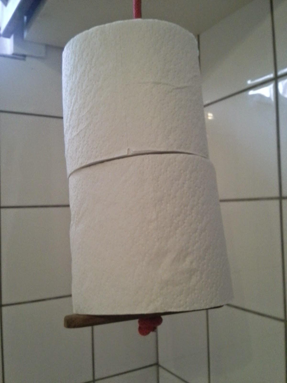 Alle nye Flinks Hobby: Holder til toiletruller MJ07