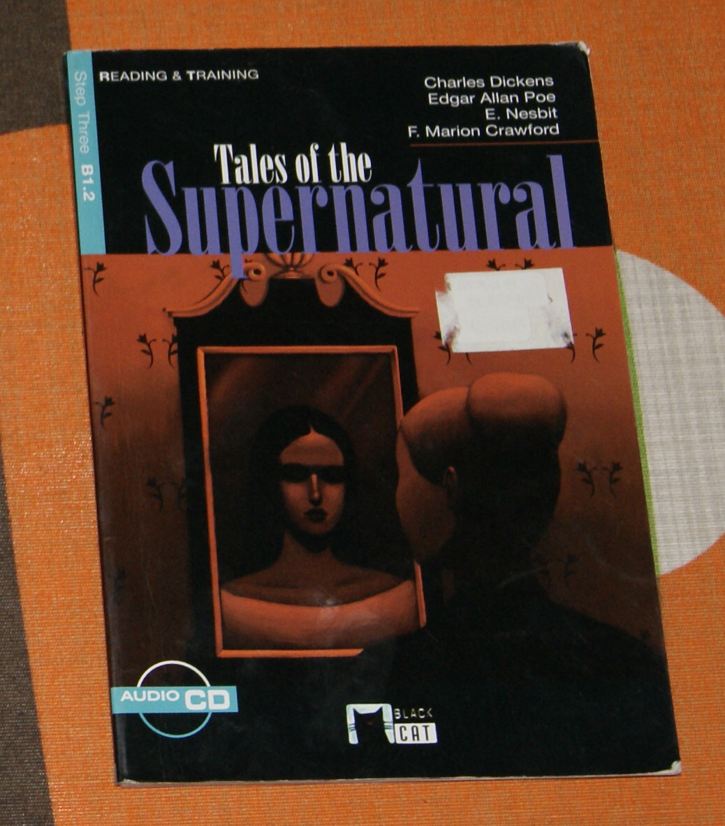 Supernatural Libros Un Rastro De Libros Tales Of The Supernatural Vvaa