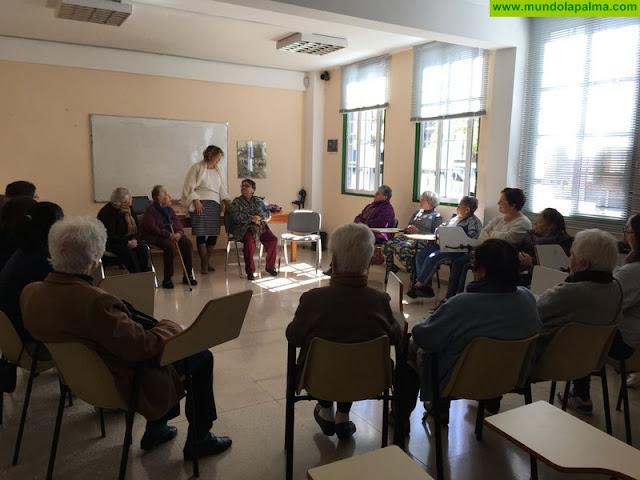 Tijarafe cuenta con un programa de envejecimiento activo para la mujer rural