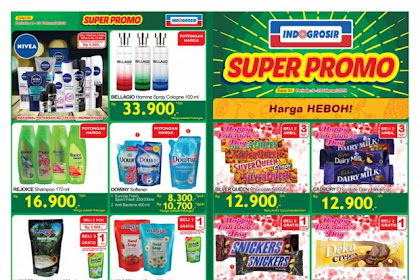 Katalog Indogrosir Terbaru Super Promo 22 Februari - 7 Maret 2019
