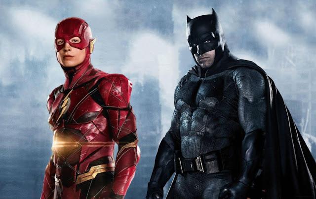 """Batman no filme """"The Flash"""""""