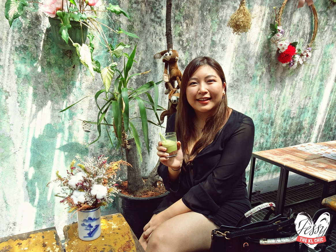 My Green Tea Latte Party With BOH Tea Malaysia