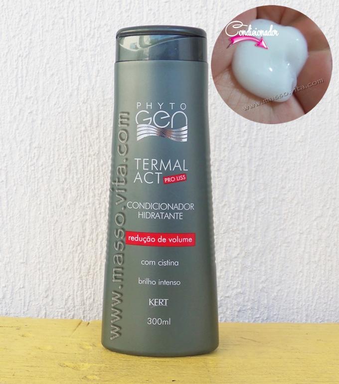 Condicionador Hidratante  Termal ACT pro liss