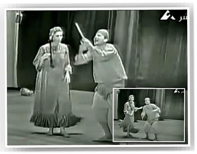 """رقصة الناي السحري """"عويس ورتيبة"""""""